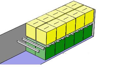 Diagram of pallets